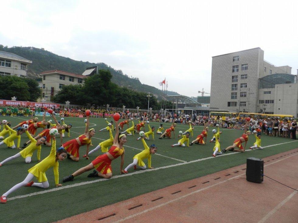 奥联体育助阵志丹县幼儿足球主题系列活动